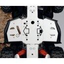 Aluminium Fußraum - Unterbodenschutz - Outlander +...
