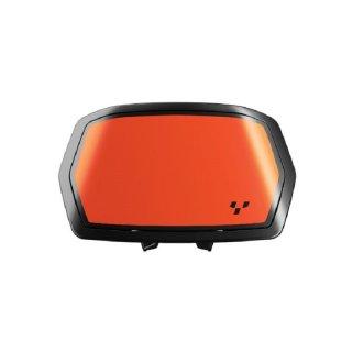 Aufkleber für Instrumentenspoiler  Orange Blaze